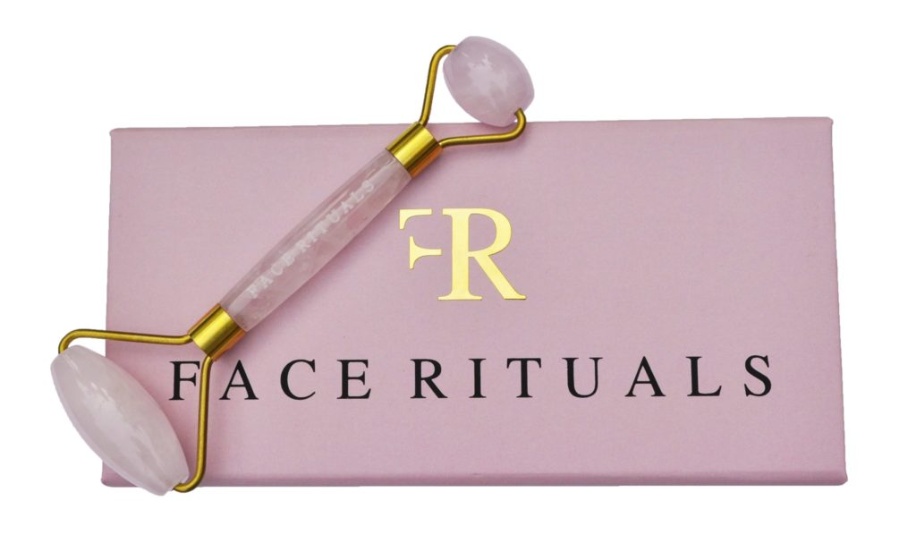 Face Rituals Mini Rose Quartz Roller: