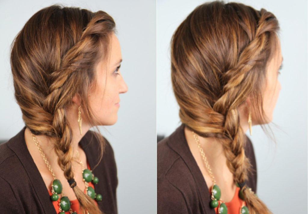 The Simple Side Braid: