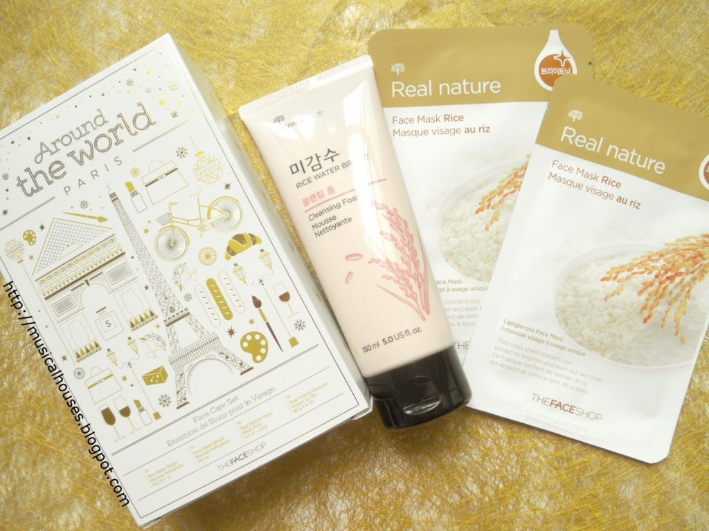The Face Shop Real Nature Rice Face Mask: