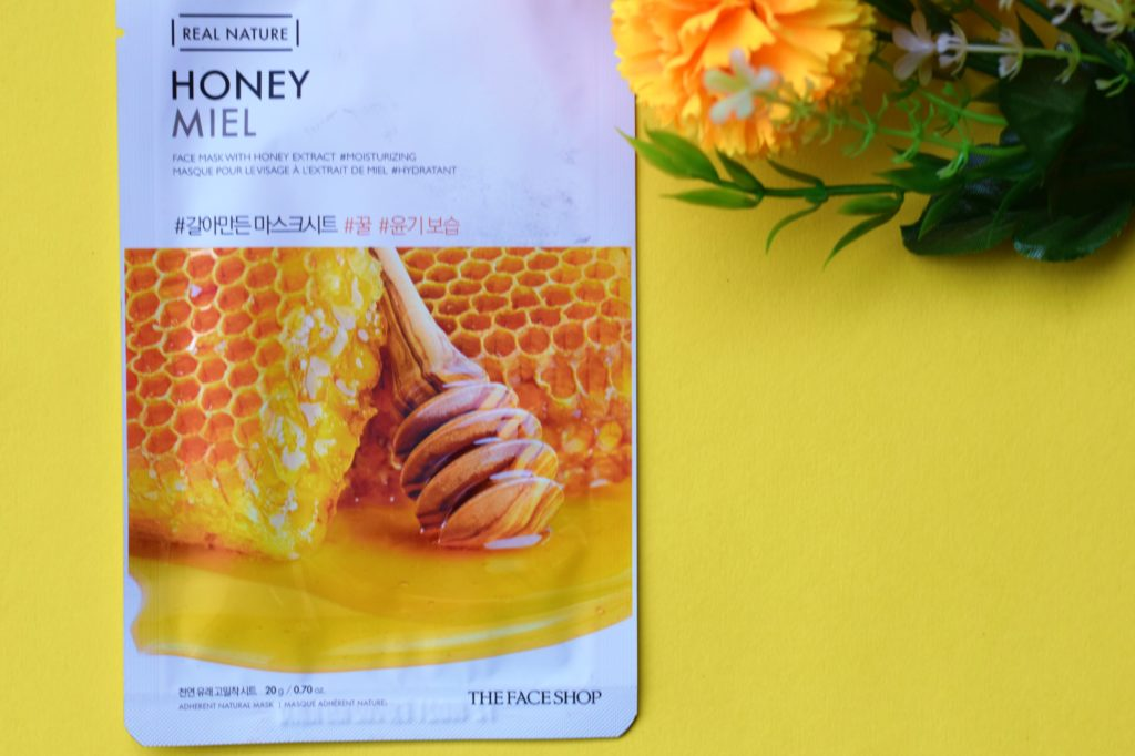The Face Shop Real Nature Honey Face Mask:
