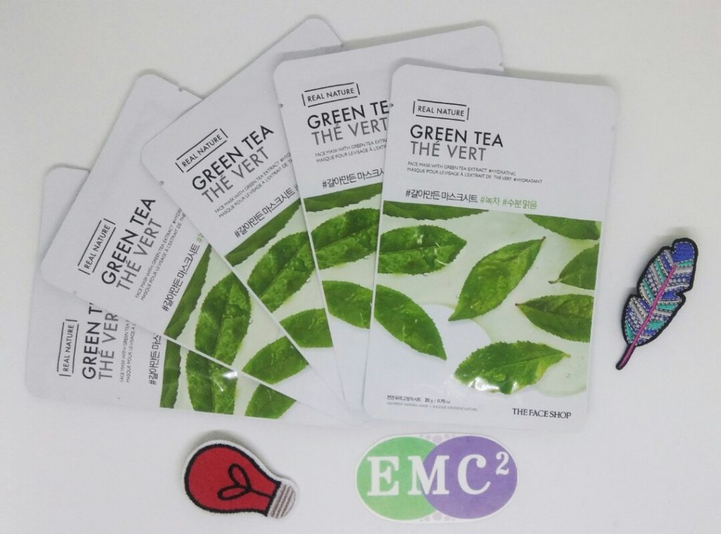 The Face Shop Real Nature Green Tea Face Mask: