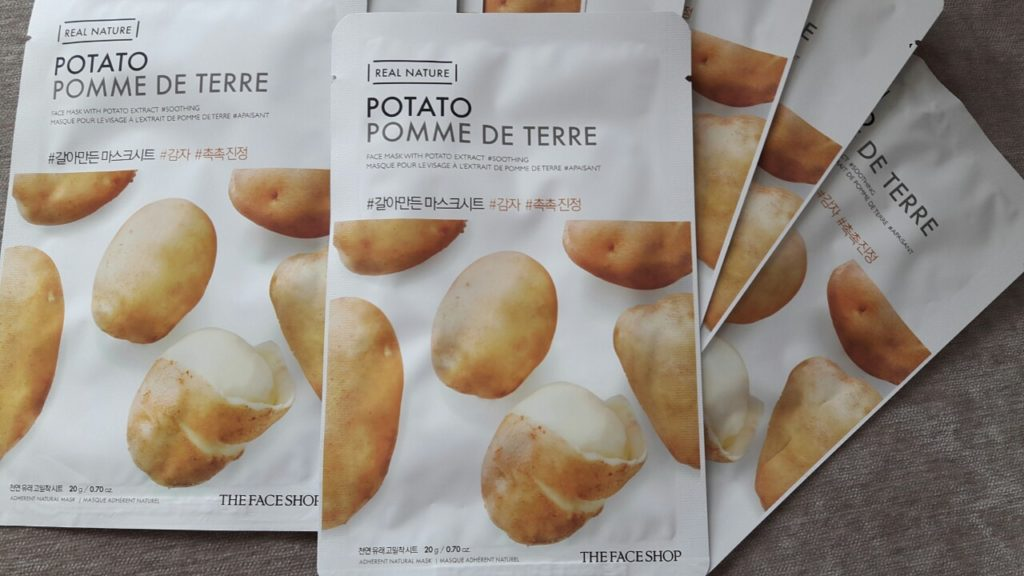 The Face Shop Real Nature Potato Face Mask: