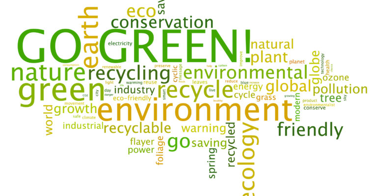 The Reasons Why We Should Go Green