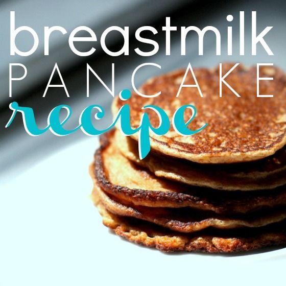 breastmilk Pancakes: