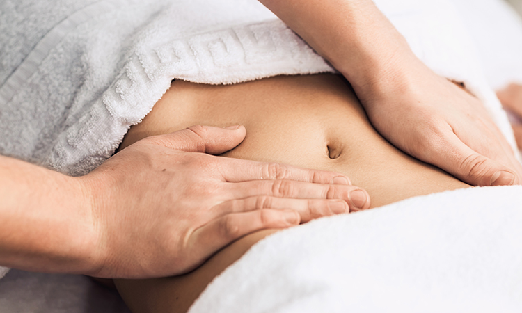Natural ways to have a miscarriage: massaging the belly