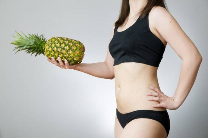 Natural ways to have a miscarriage: Consuming Pineapple: