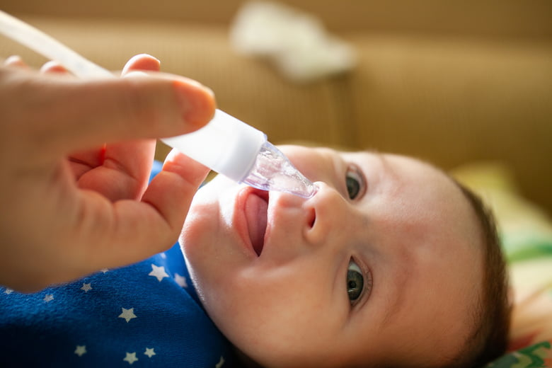 Breast Milk Cures: A stuffy nose